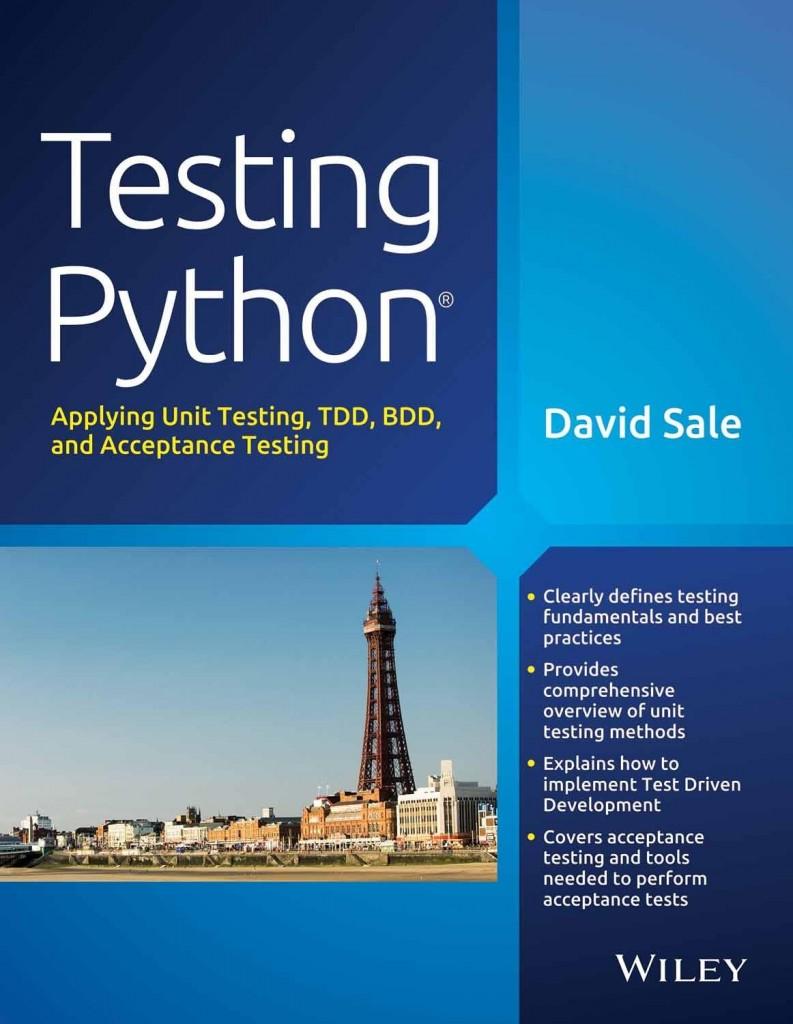 Obálka knihy Testing Python