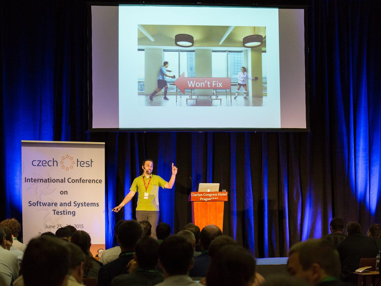 Obrázek: Jedna z přednášek