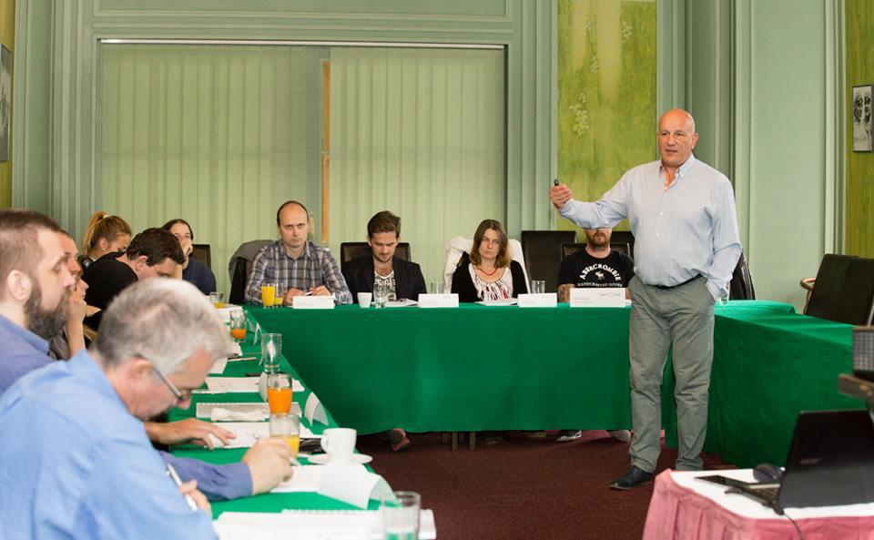 Obrázek: Probíhající seminář